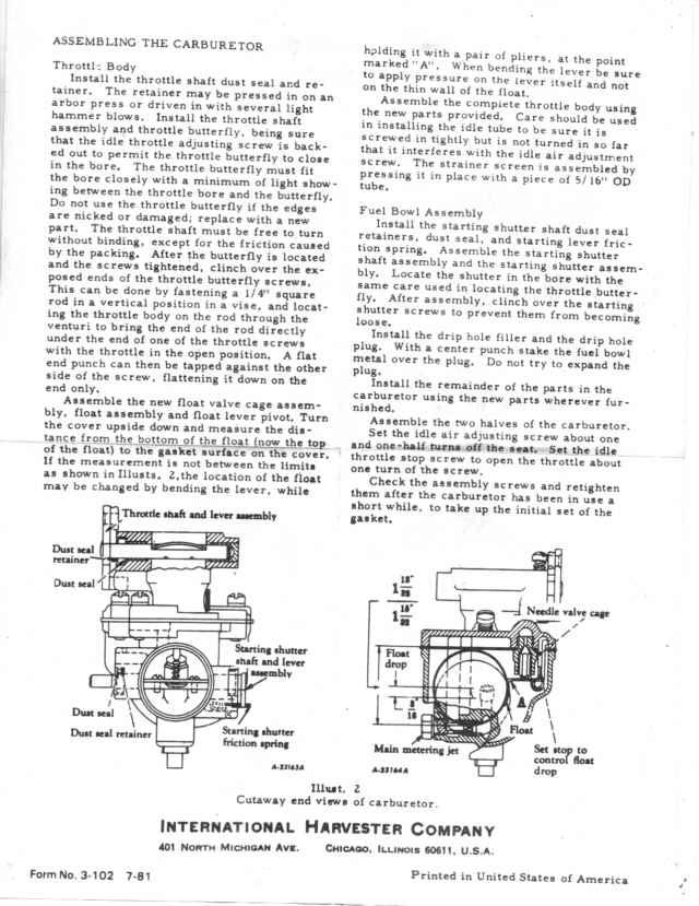 A t i s faq on farmall cubs, page 2 readingrat net on farmall cub wiring diagram manual 1948 Massey Ferguson Wiring-Diagram 1948 Farmall Cub Tractor Parts