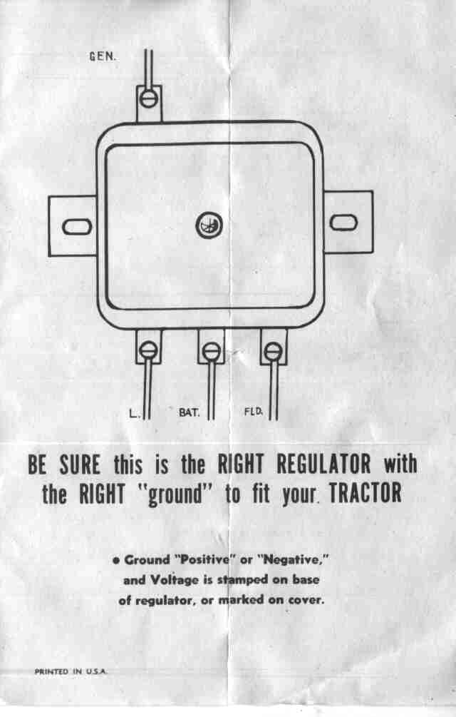 farmall a tractor 6 volt positive ground wiring diagram bookmark 706 Farmall Parts Diagram