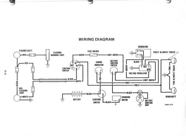 50cub wiring 1950 farmall cub Universal Wiring Harness Diagram at n-0.co